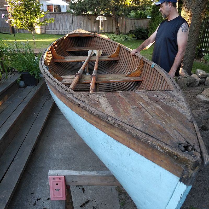 Classic St. Lawrence Skiff; 16 ft. 1980s
