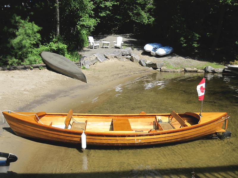 1995 Albert's Wooden Boats - Electric Cruiser